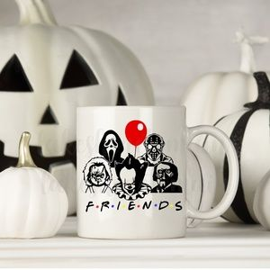 F.R.I.E.N.D.S. coffee cup - holiday decor